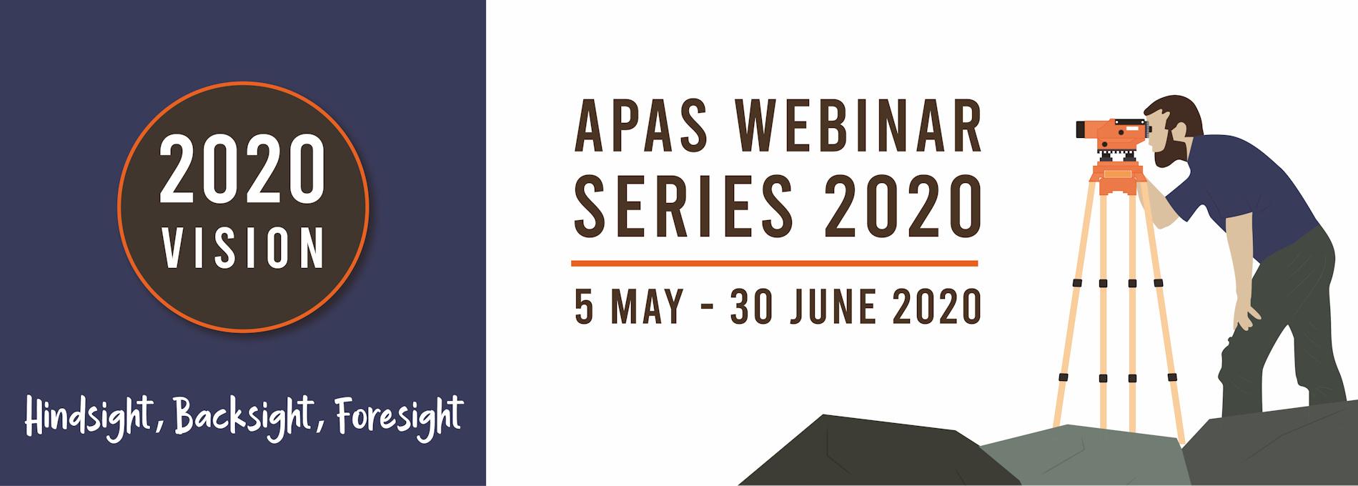 APAS2020 Webinar Series